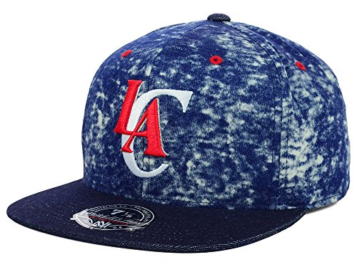 Mitchell & Ness Los Angeles Clippers NBA Dirty Denim Fitted Hat 7 -
