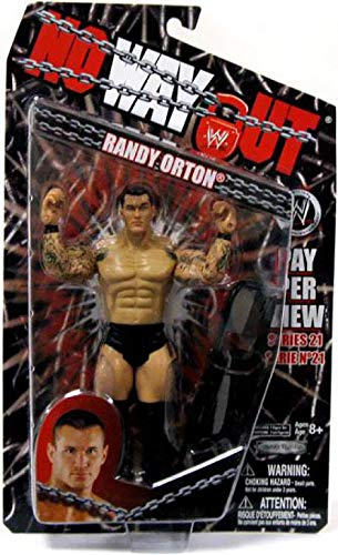 Jakks Pacific WWE Wrestling Pay Per View Series 21 No Way Out Randy Orton Action - Randy Orton Wrestling