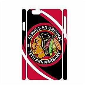 Charm Sports Series Hockey Team Logo Photo Print Hard Plastic Case Skin for Iphone 6 Case - 4.7 Inch