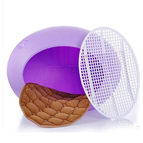 WuKong Pet Egg Shaped Dog Cat House (Purple) by Wukong