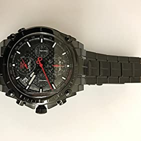 BULOVA Precisionist Chronograph Black Carbon Dial Men's Watch