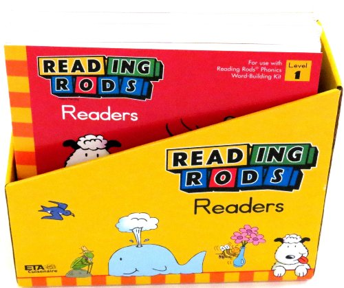 ETA hand2mind Reading Rods Readers: Phonics Foundation 1 (Set of 16) (Reading Rods Readers)
