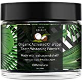 Geo Bright Organic Activated Charcoal Teeth Whitening Powder