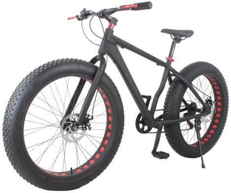 "Passion Ebike 18"" Frame Aluminum Mountain Fat Bike 26"" x 4"" Tires"