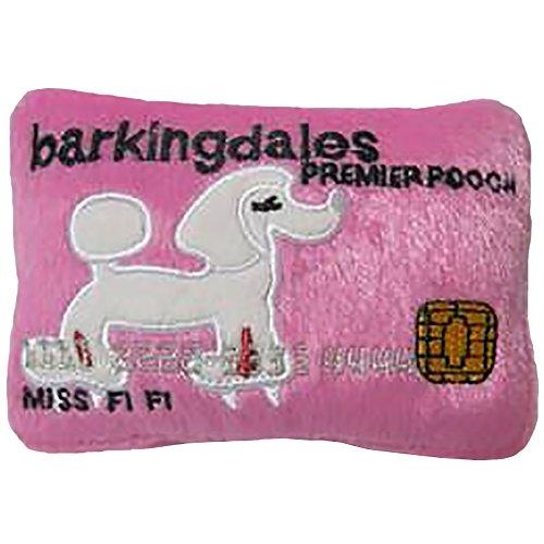 Dog Diggin Designs Squeaky Plush Toys - Credit Cards (Barkingdales Credit Card)
