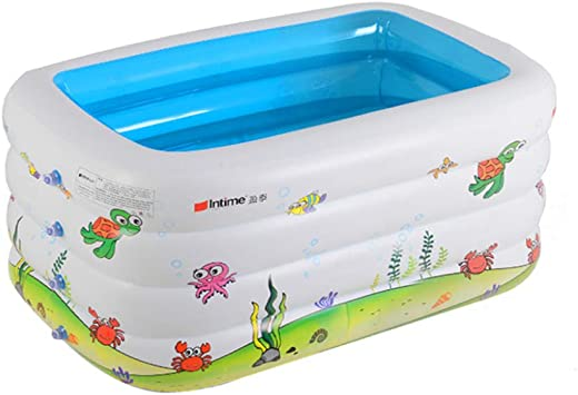 LYNN Piscinas Hinchables,Piscina Inflable,con Asiento Desmontable ...