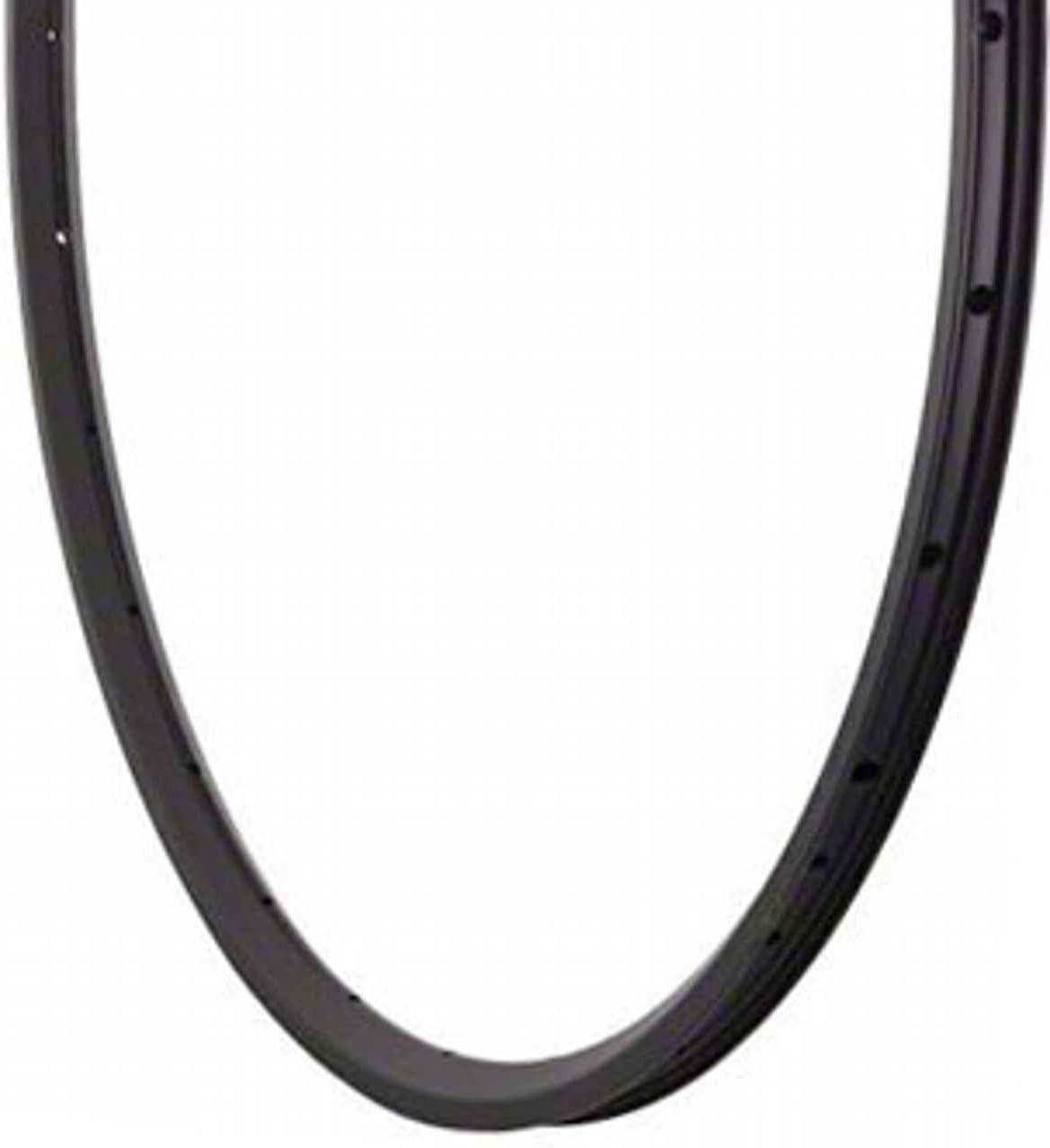 Velocity A-23 700c 32h Black//Silver w//Machined Sidewall