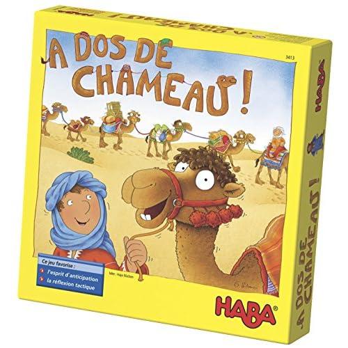 HABA - 3413 - Jeu à Dos de Chameau
