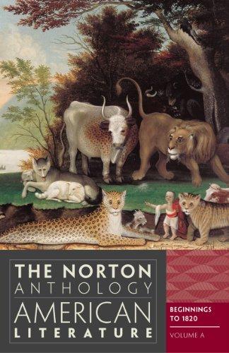 Norton Anthol.Of Amer.Lit,Vol.A