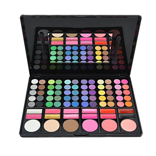 KRABICE Eyeshadow Palette,Bold and Bright Collection, Vivid,Eyeshadow Eye Shadow Palette Makeup Kit Set(78 Eyeshadow Palette) - Pattern 3