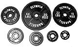 45 Pound Black Olympic Plate Pair