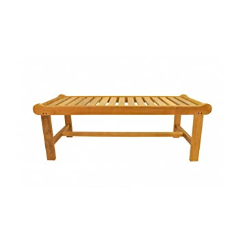 Merveilleux Cambridge Teak Picnic Bench Fabric : Canvas   Tangerine