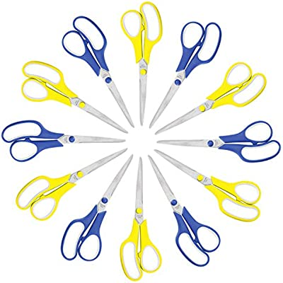 scissors-bulk-12-pack-8-inch-stainless