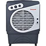Honeywell Powerful Outdoor Portable Evaporative Cooler with Fan, Long-Lasting Honeywell Honeycomb Pads on 3 sides & Copper Continuous Water Supply Connection, CO60PM (Certified Refurbished)