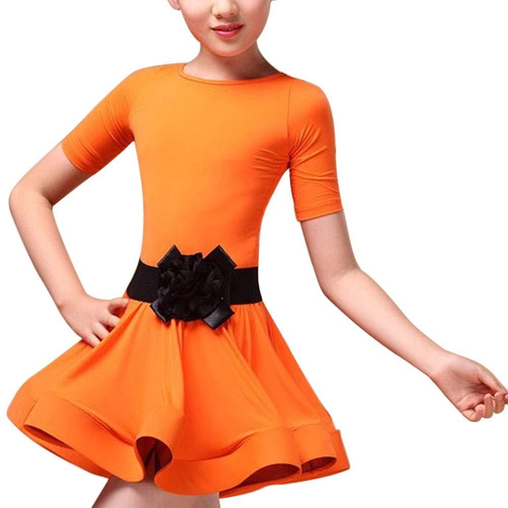 Huatime Baile Vestido Disfraz Niñas - Niños Latina Salsa Ballet ...