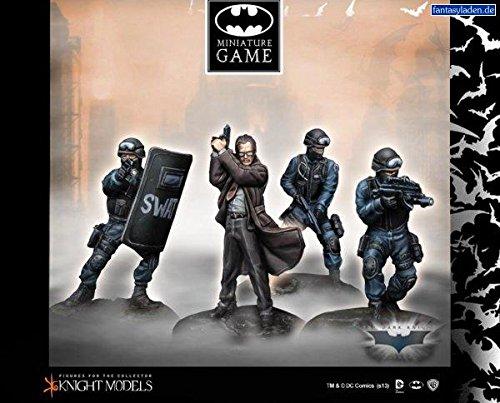 Batman Comics Premium Miniatures: Commissioner Gordon and SWAT Team (4)