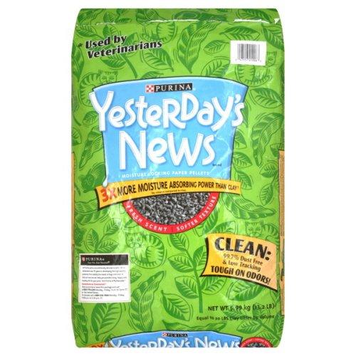 Yesterday's News Cat Litter, Fresh Scent, 13.2 Lb,