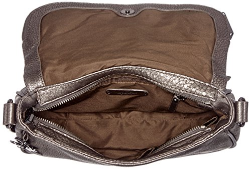 Kipling Earthbeat S, Borse a tracolla Donna Oro (Gold Metal)