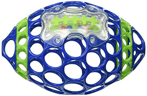 Oball Grab & Rattle Football Baby, (Football Rattle)