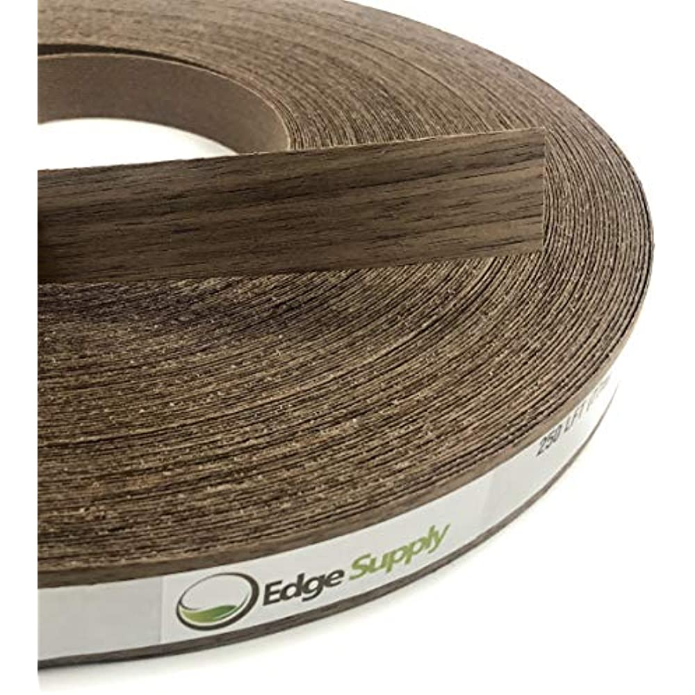 Easy Application Iron On with Hot Melt Adhesive Flexible Wood Tape Made in USA. Maple 5//8 X 25 Preglued Wood Veneer Edgebanding Roll