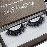 GreatFun Women Soft 3D Mink Hair Simulation Thick Stage Fake Eyelashes