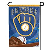 "MLB Milwaukee Brewers WCR37789071 Garden Flag, 11"" x 15"""