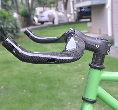 12K carbon fiber road bike bicycle Bullhorn Bar handlebar 31.8 mm 40 42 44 cm