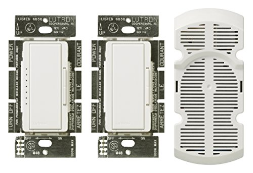 Lutron MA-FQ3-WH Maestro Fan Control Kit, White