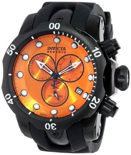 Invicta Men's 5735 Reserve Collection Black Ion-Plated Chronograph Watch by Invicta