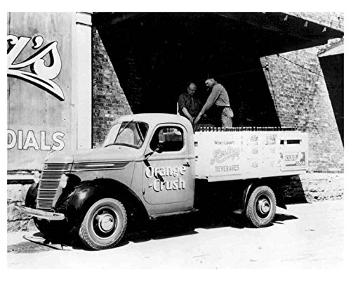 1937 International D5 Orange Crush Soda Truck Photo from AutoLit