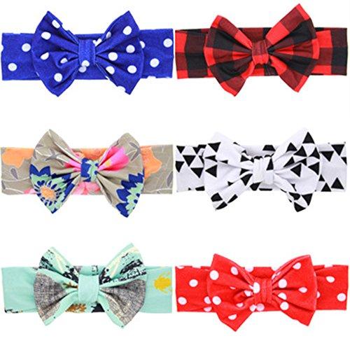 ZOONAI-Baby-Girls-Toddler-Bowknot-Headband-Infant-Rabbit-Ear-Hair-Band-Headdress