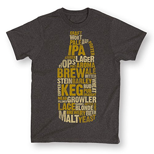 USA Screen Print Direct Growler With Beer Terms Keg Brew IPA Lager Brewery Cool Noveltyen's (Brewery Lager)