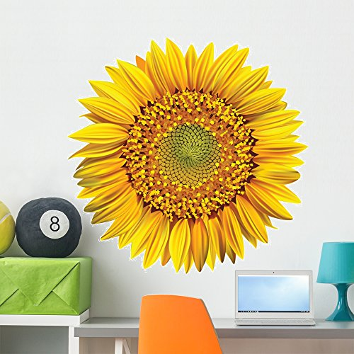 - Wallmonkeys Sunflower Wall Decal Peel and Stick Graphic WM22928 (36 in W x 35 in H)