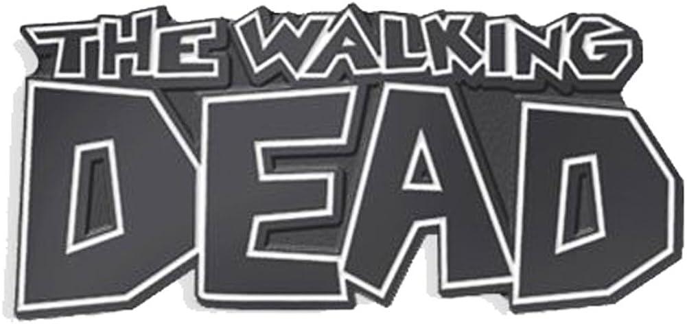 Yesterdays Co The Walking Dead Logo Soft Enamel Black Metal Plated Lapel Pin