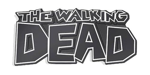 The Walking Dead Logo Soft Enamel Black Metal Plated Lapel Pin By  Yesterdays Co.