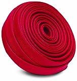 """Heatshield Products 203121 HP Color Heat Sleeve Red 5/16"""" - 7/16"""" ID x 25' Adjustable Heat Shield Sleeve"""