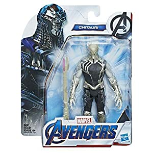 collector Avengers Endgame – CHITAURI – Action Figure with Accressory, Approx 6″