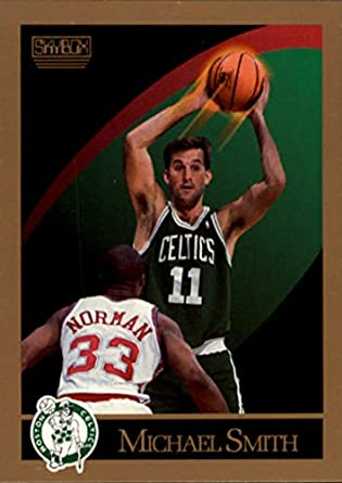 Amazon.com  Basketball NBA 1990-91 SkyBox  24 Michael Smith  24 NM ... 4e35c5a9c