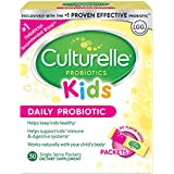 Culturelle Kids Packets Daily Probiotic Supplement | Helps Support a Healthy Immune & Digestive System* | #1 Pediatrician Recommended Brand††† | 30 Single Packets | Package May Vary