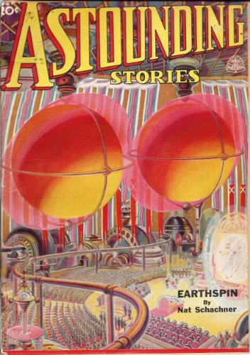 Astounding Stories 1937 Vol. 19 # 04 June: Earthspin / Forgetfulness / Once Around the Moon / Durna Rangue Neophyte / Comet's Captive / Reverse Phylogeny / Two Sane Men - Nat Reverse