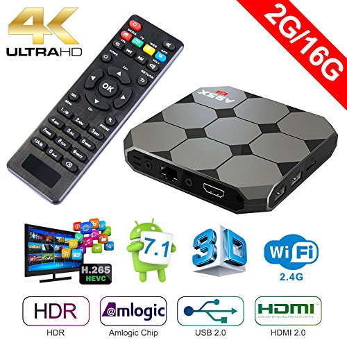 Sawpy A95X R2 Android TV Box Android 7.1 Smart TV...