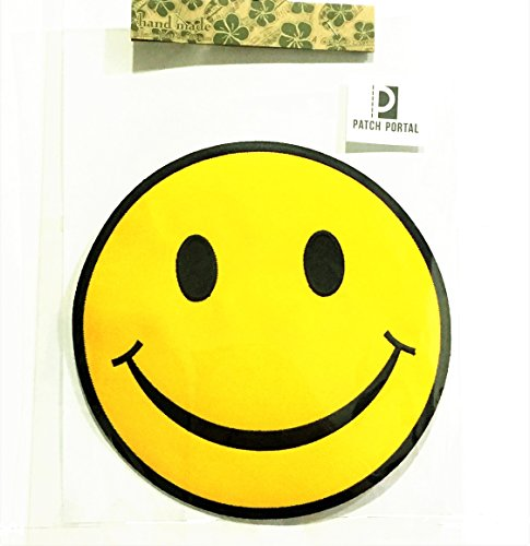 Patch Portal Smiley Face Emoji Large 7.5