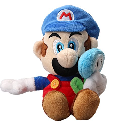 os. Ice Mario with ICE Flower Plush 7'' ()