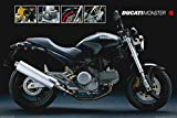 Motorcycle - Ducati Monster by Unknown 36.00X24.00. Art Poster Print