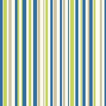 Arthouse Earn Your Stripes Striped Pattern Rainbow Childrens Wallpaper Blue Green 668700
