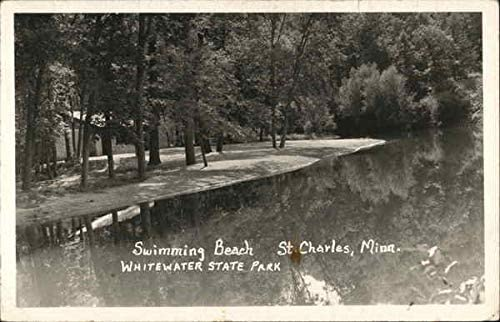 Swimming Beach St Charles Minn Whitewater State Park St Charles Minnesota Mn Original Vintage Postcard At Amazon S Entertainment Collectibles Store