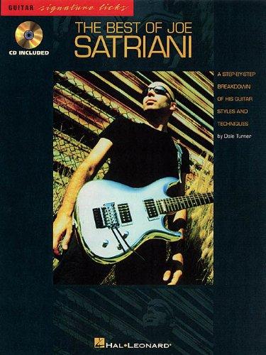 The Best of Joe Satriani (Guitar Signature Licks)