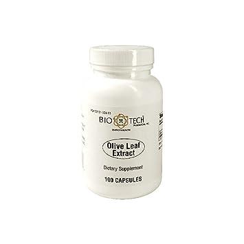 Amazon com: Bio-Tech - Olive Leaf Extract 500 Mg 100