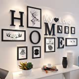 XK.DARLY Wall Home Decor Multi Picture Photo Frames DIY Home Wall Decoration Wooden Frame Set for Living room Bedroom