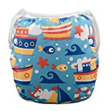 babygoal Reusable Swim Diapers for Girl 0-2 Year